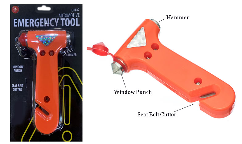Astonishing Details About Emergency Auto Hammer Window Breaker Punch Seat Belt Cutter 3 In 1 Escape Tool Ocoug Best Dining Table And Chair Ideas Images Ocougorg